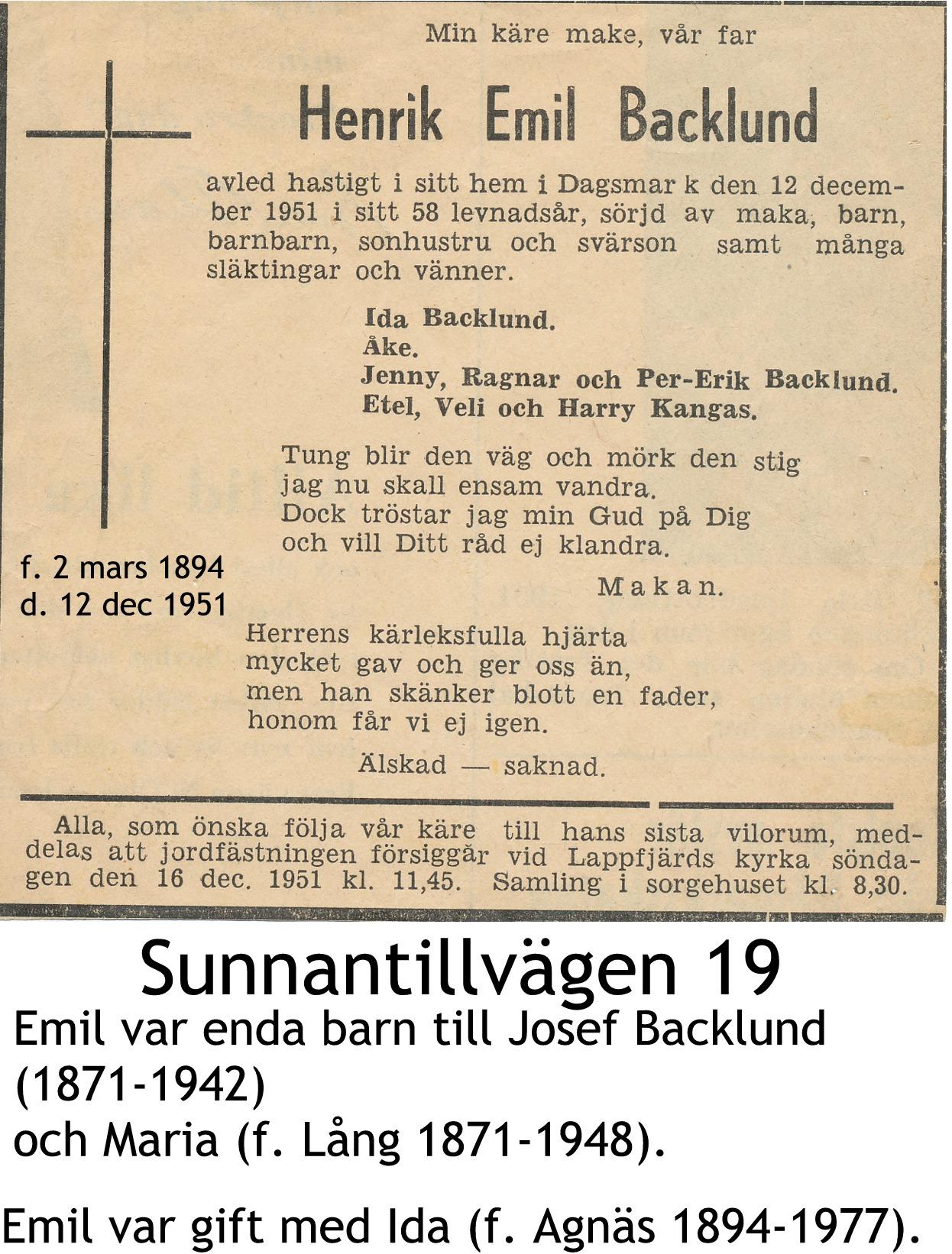 Backlund Emil