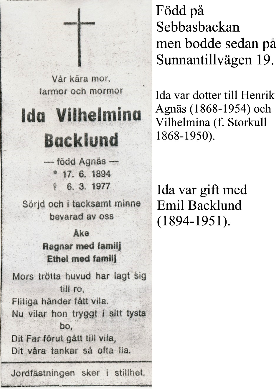 Backlund Ida