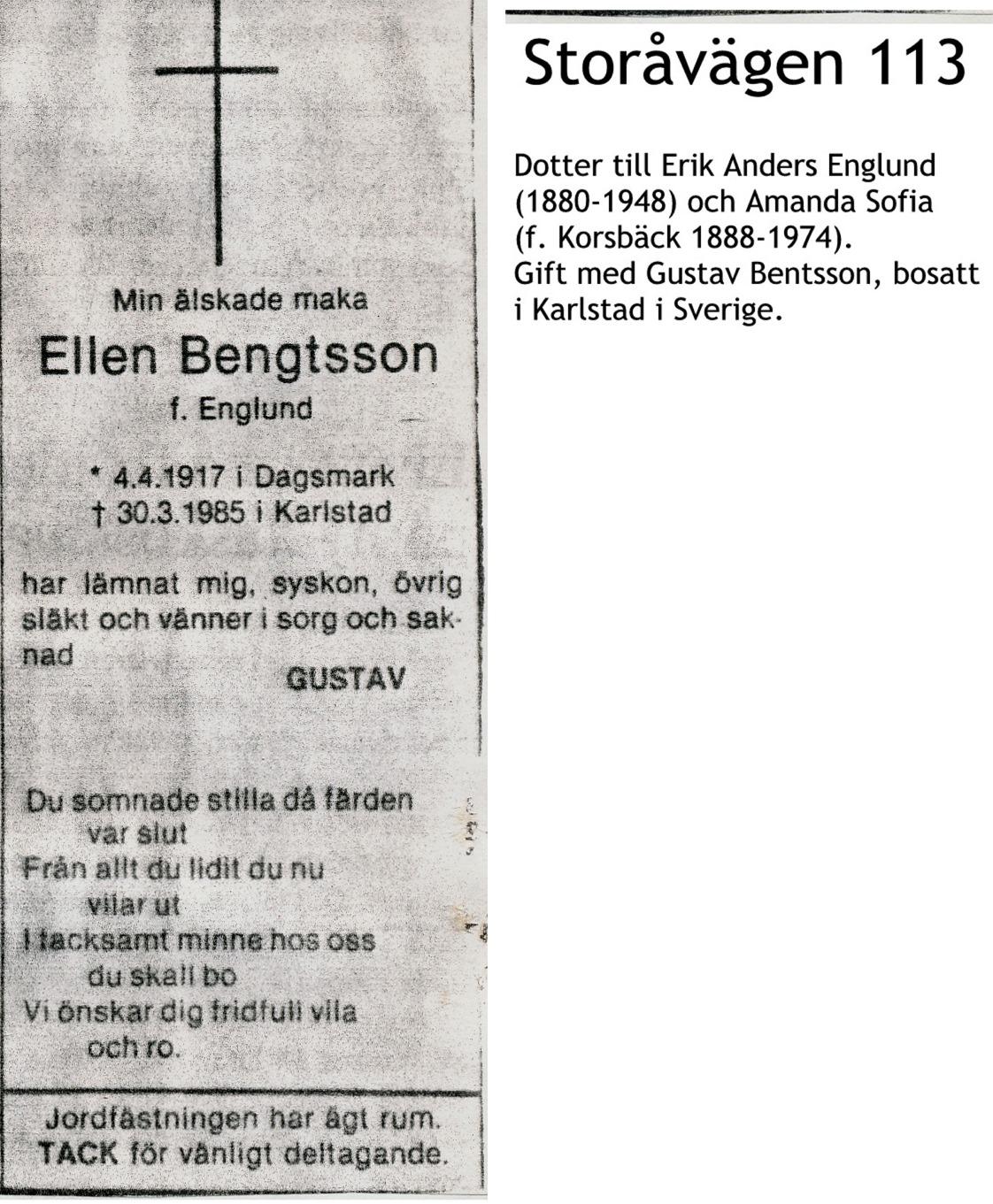 Bengtsson Ellen