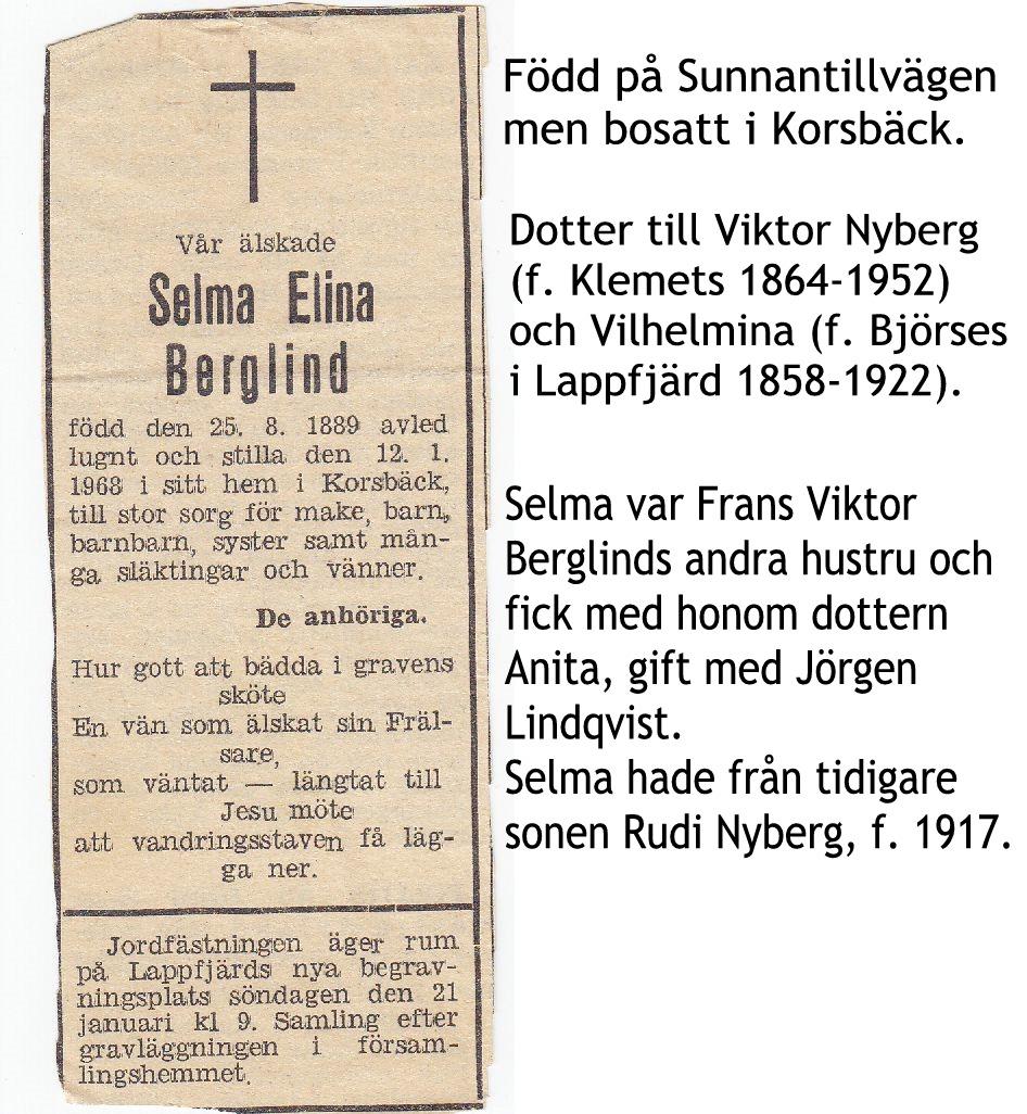 Berglind Selma