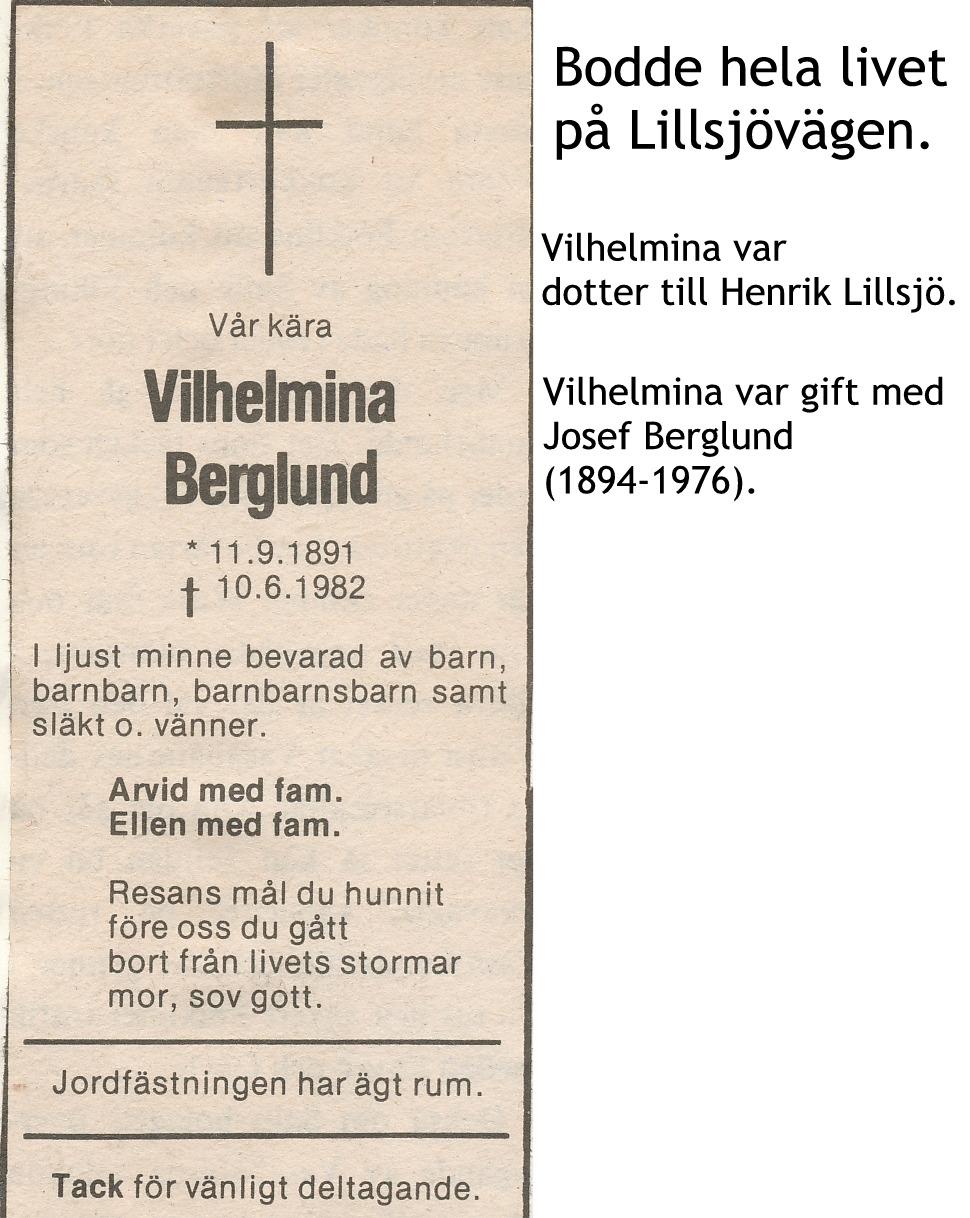 Berglund Vilhelmina