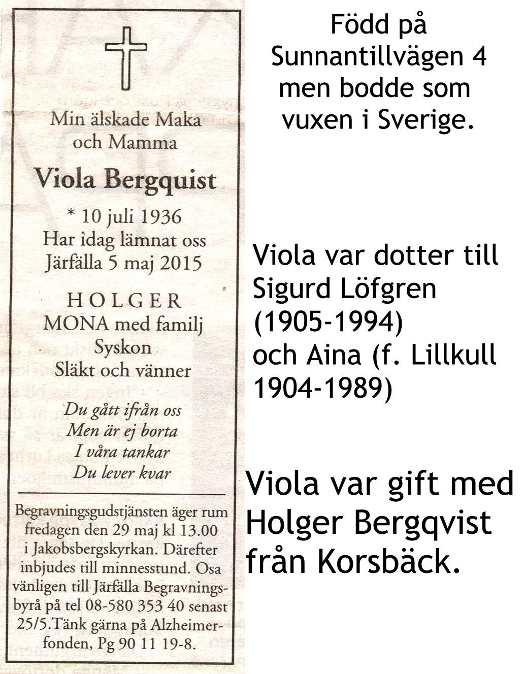 Bergquist Viola