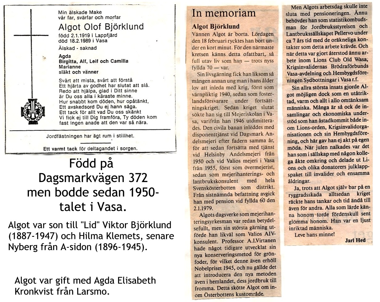 Björklund Algot