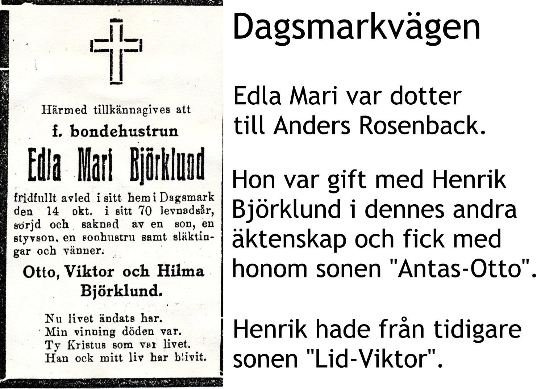 Björklund Edla Mari