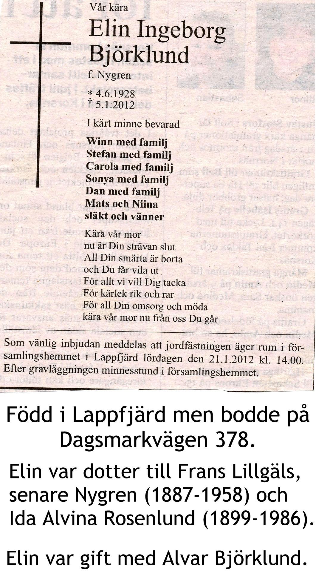 Björklund Elin