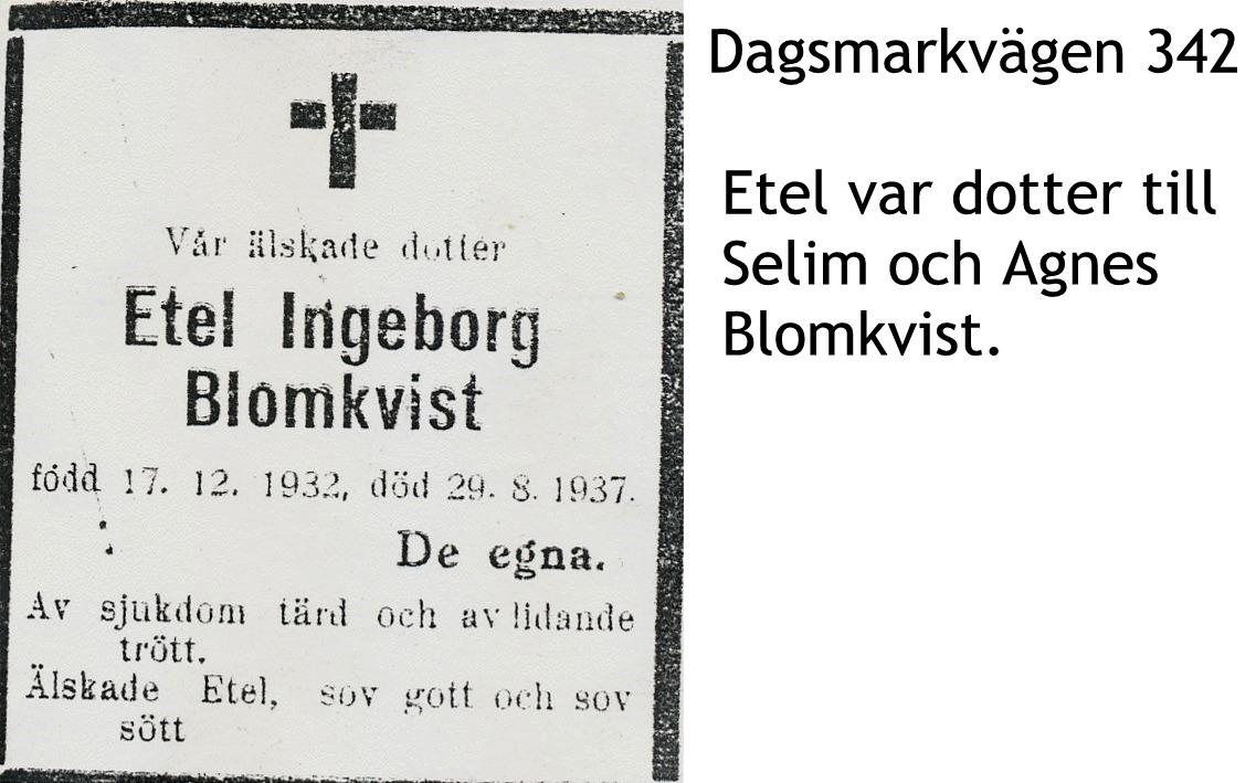 Blomkvist Etel Ingeborg