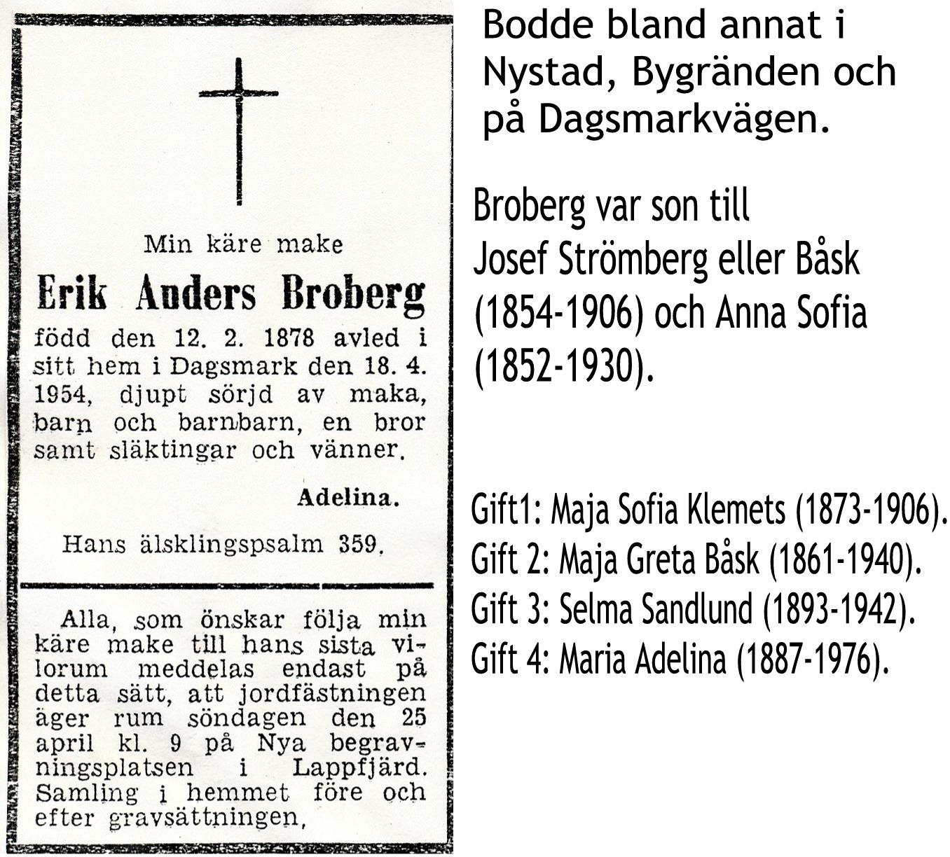 Broberg Erik Anders