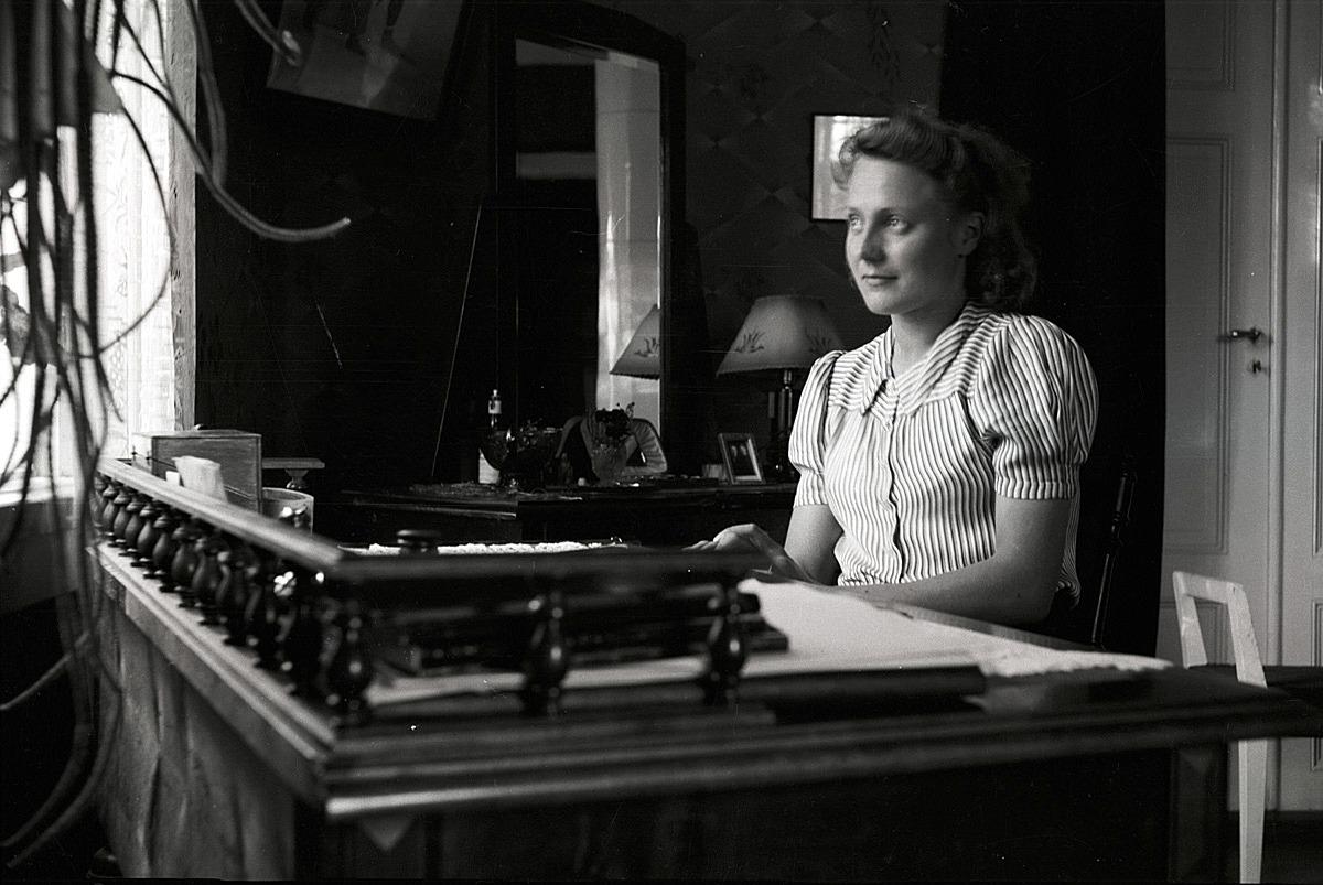 Axel Klockars dotter Inga, född 1915.