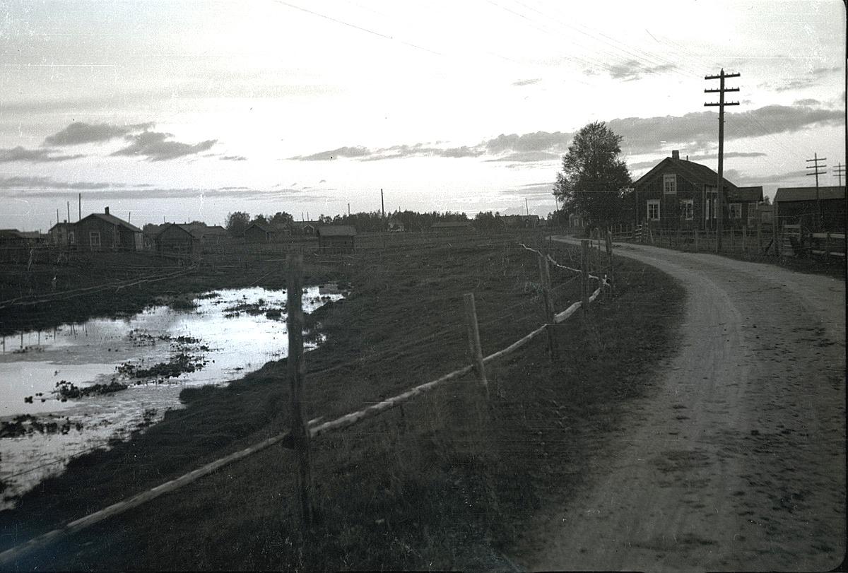 """""""Hölen"""" i Fingälon är en rest av Lappfjärds å den tiden som den rann här."""