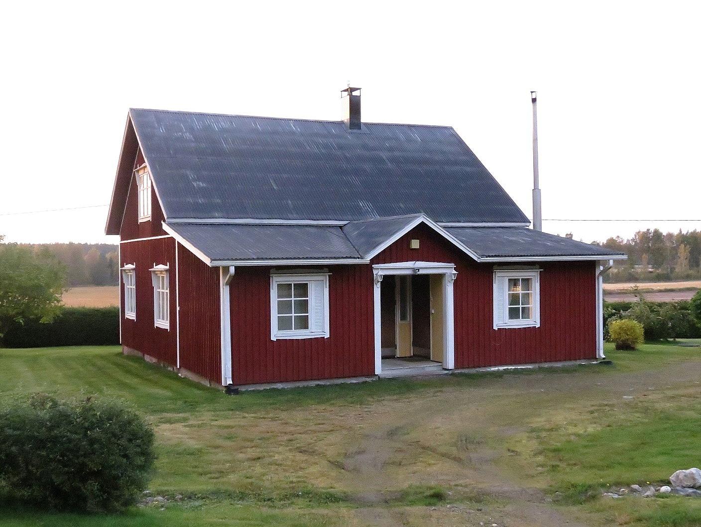 Huset fotograferat 2017 från Lillsjövägen.