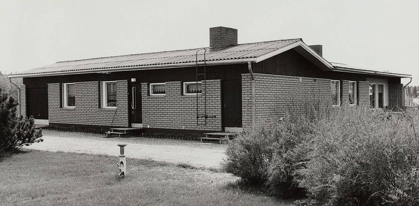 Till denna gård nära Bergåsen flyttade Boris och Iris år 1973 tillsammans med mor Hulda.