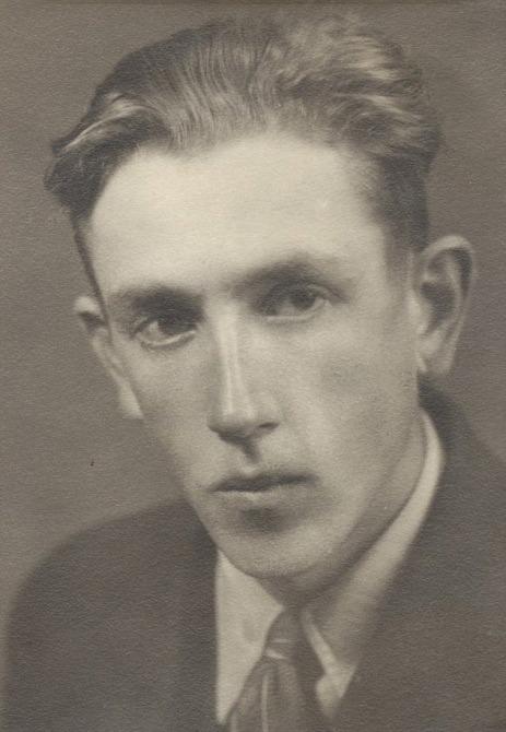 Otto Dahlroos i unga år.