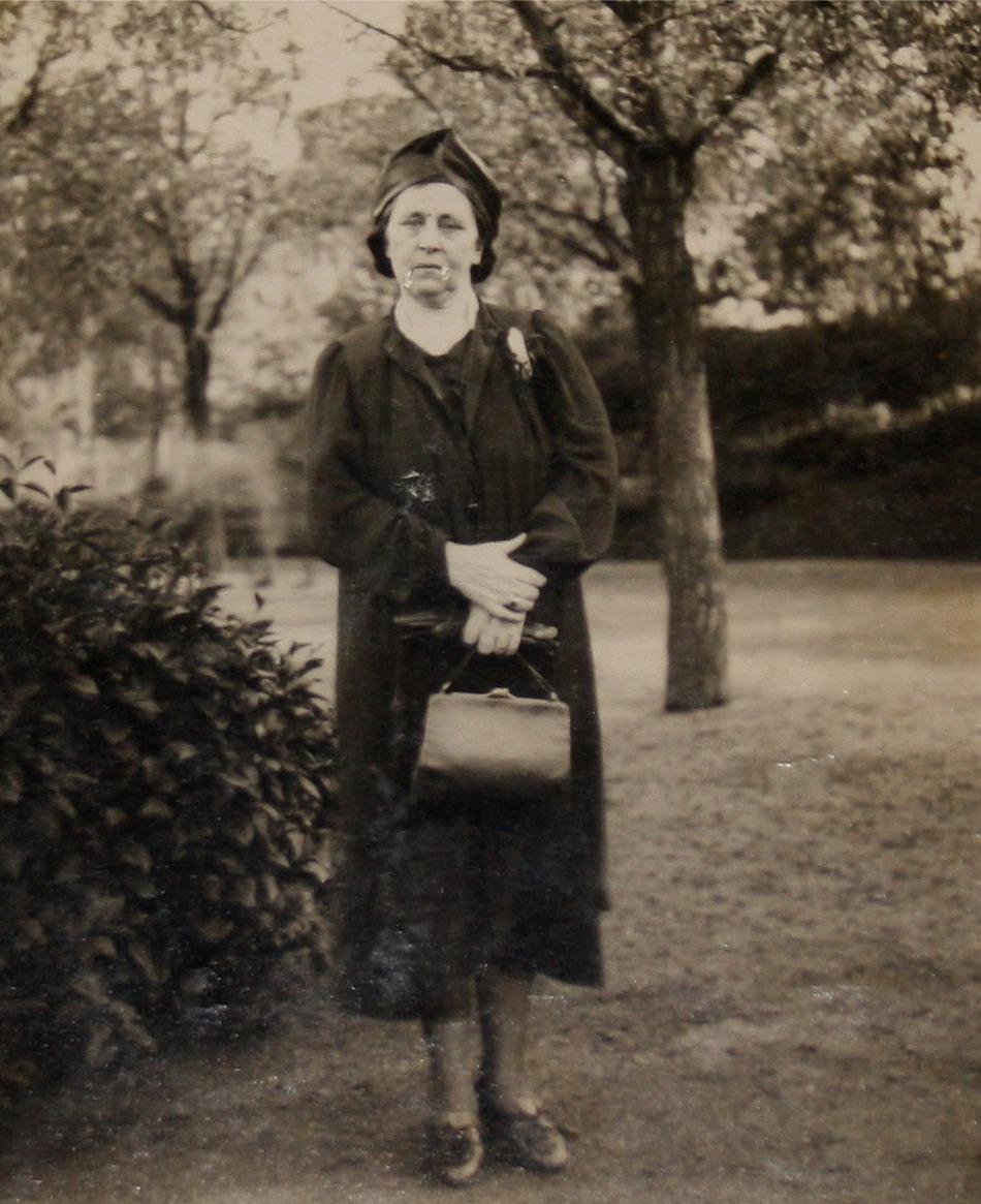 På fotot Ida Båsk år 1940.