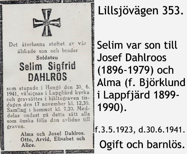 Dahlroos Selim