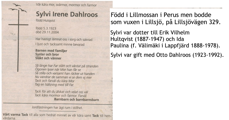 Dahlroos Sylvi