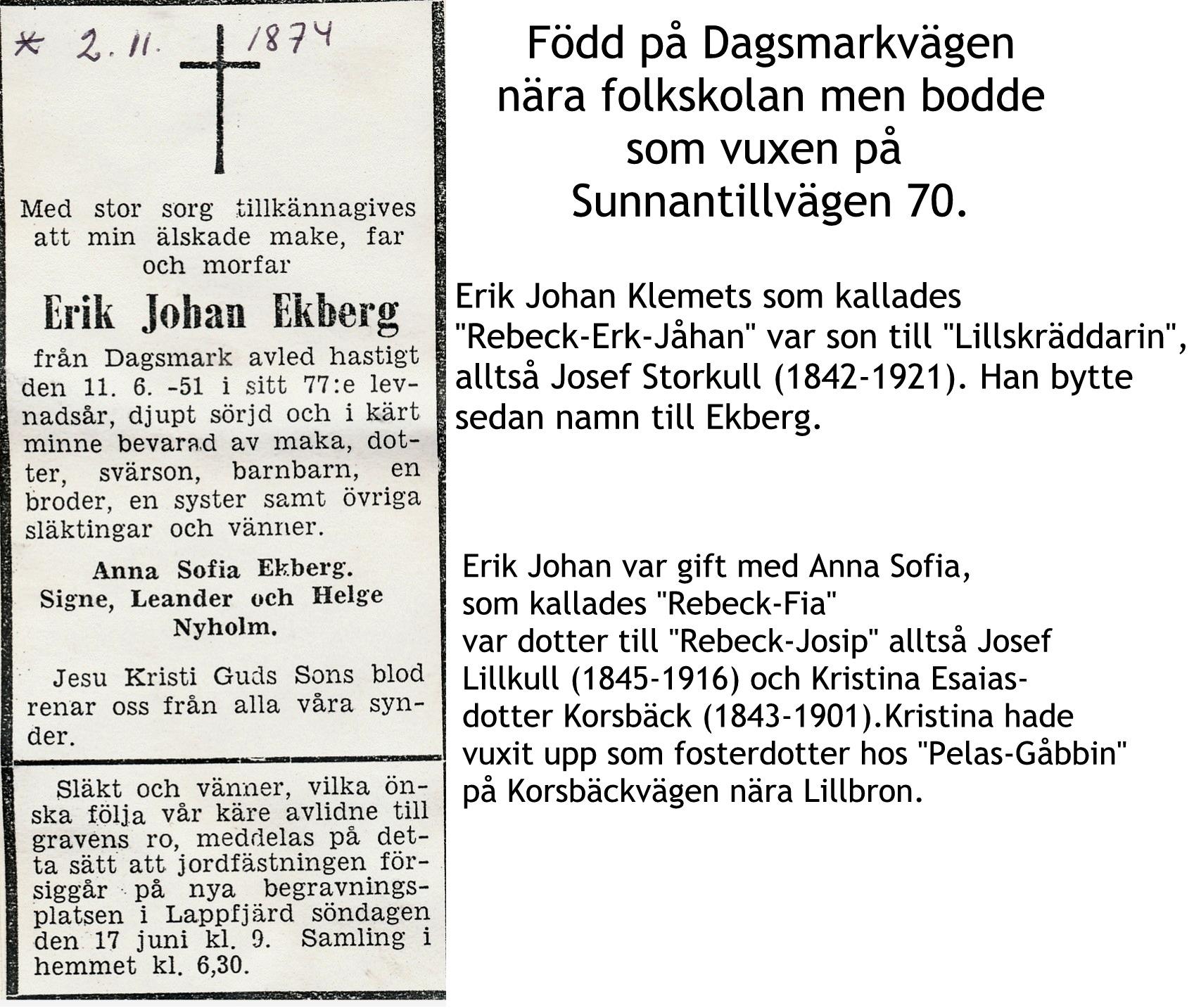 Ekberg Erik Johan