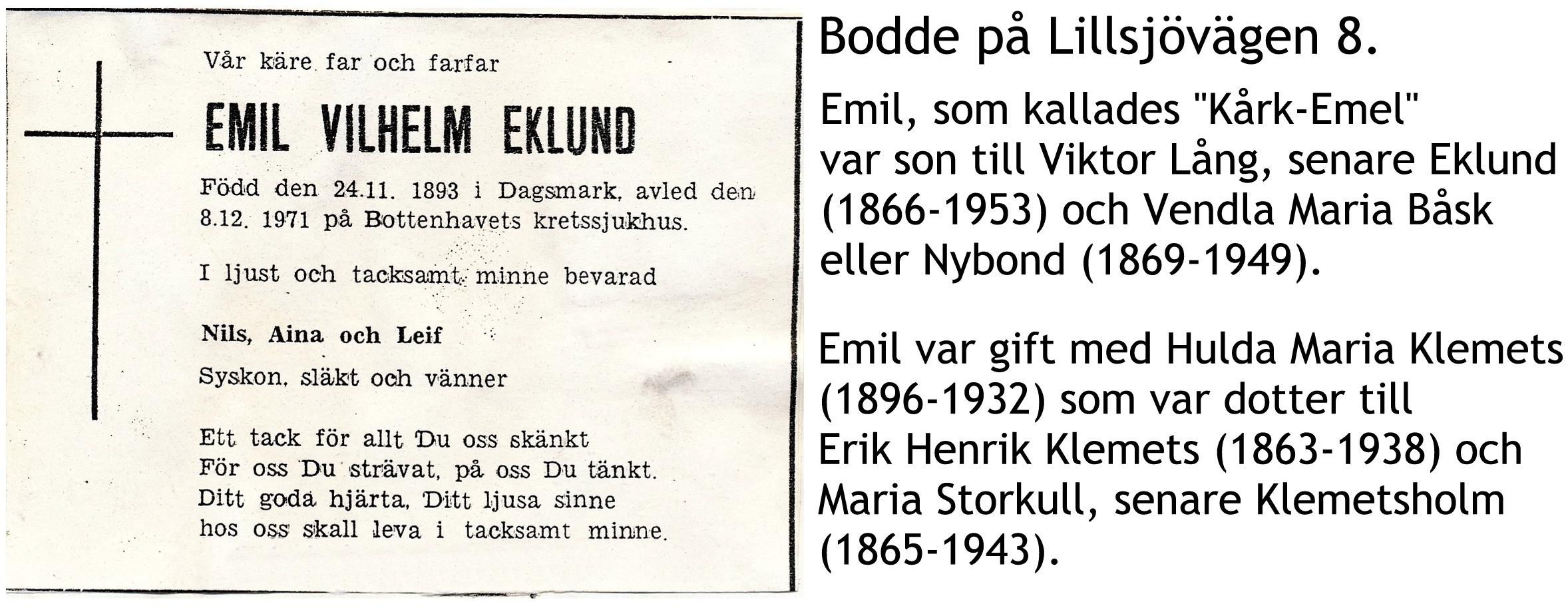 Eklund Emil