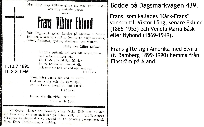 Eklund Frans