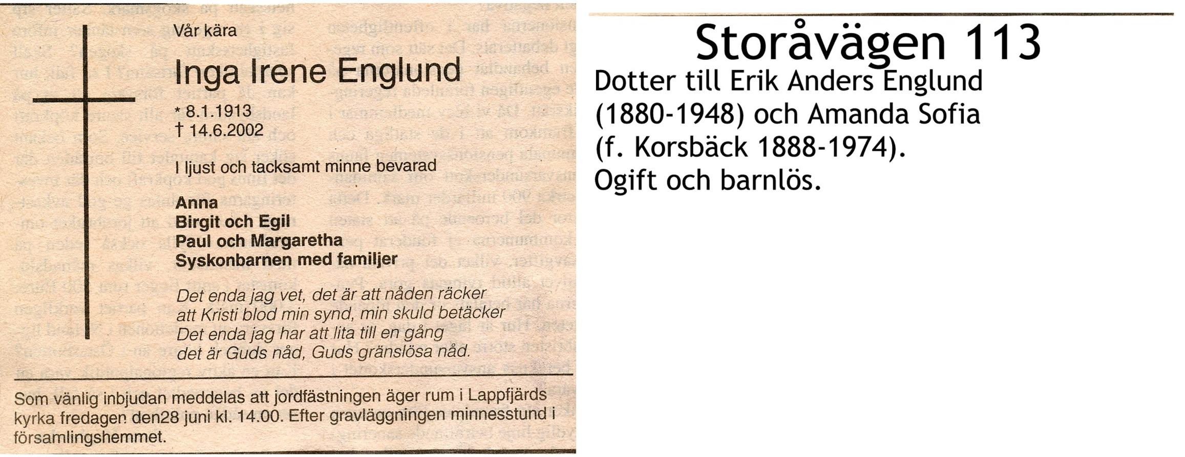 Englund Inga