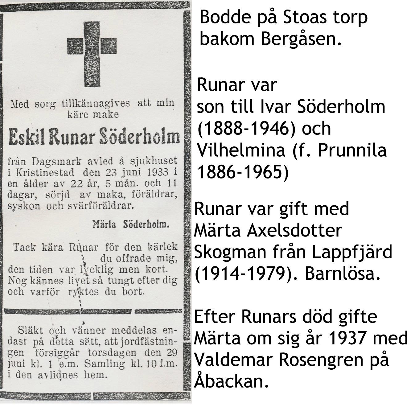 Söderholm Eskil Runar