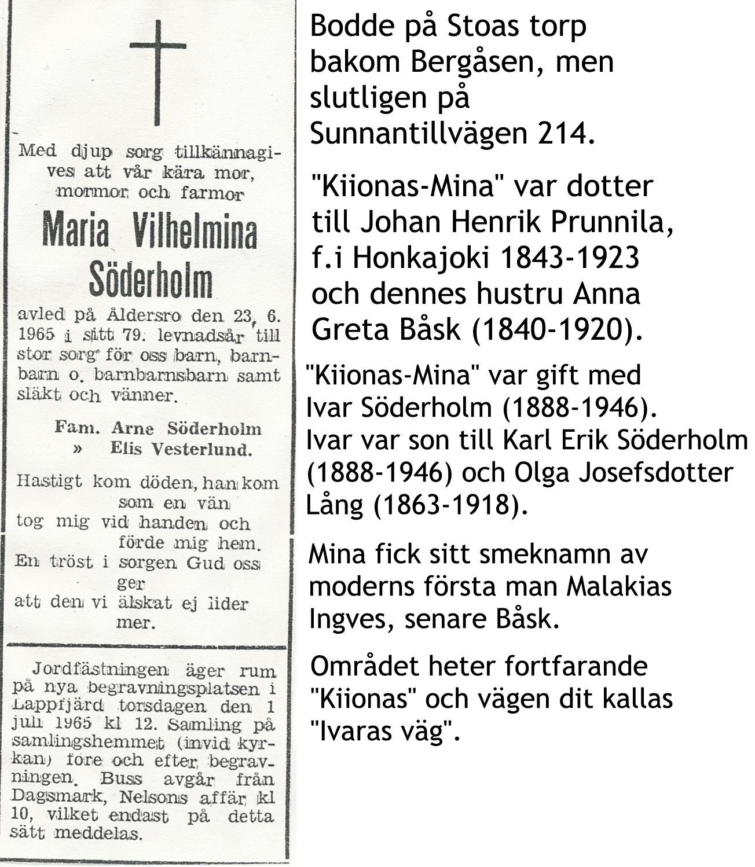 Söderholm Mina