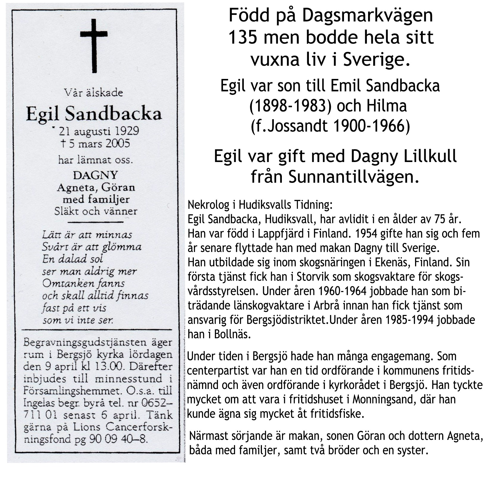 Sandbacka Egil