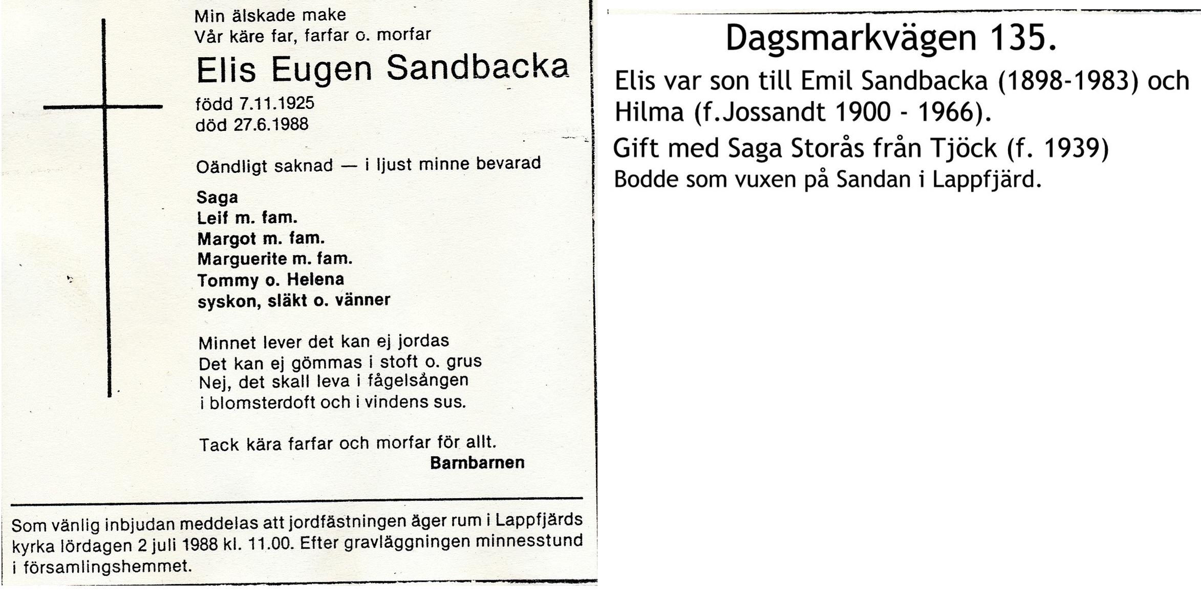 Sandbacka Elis