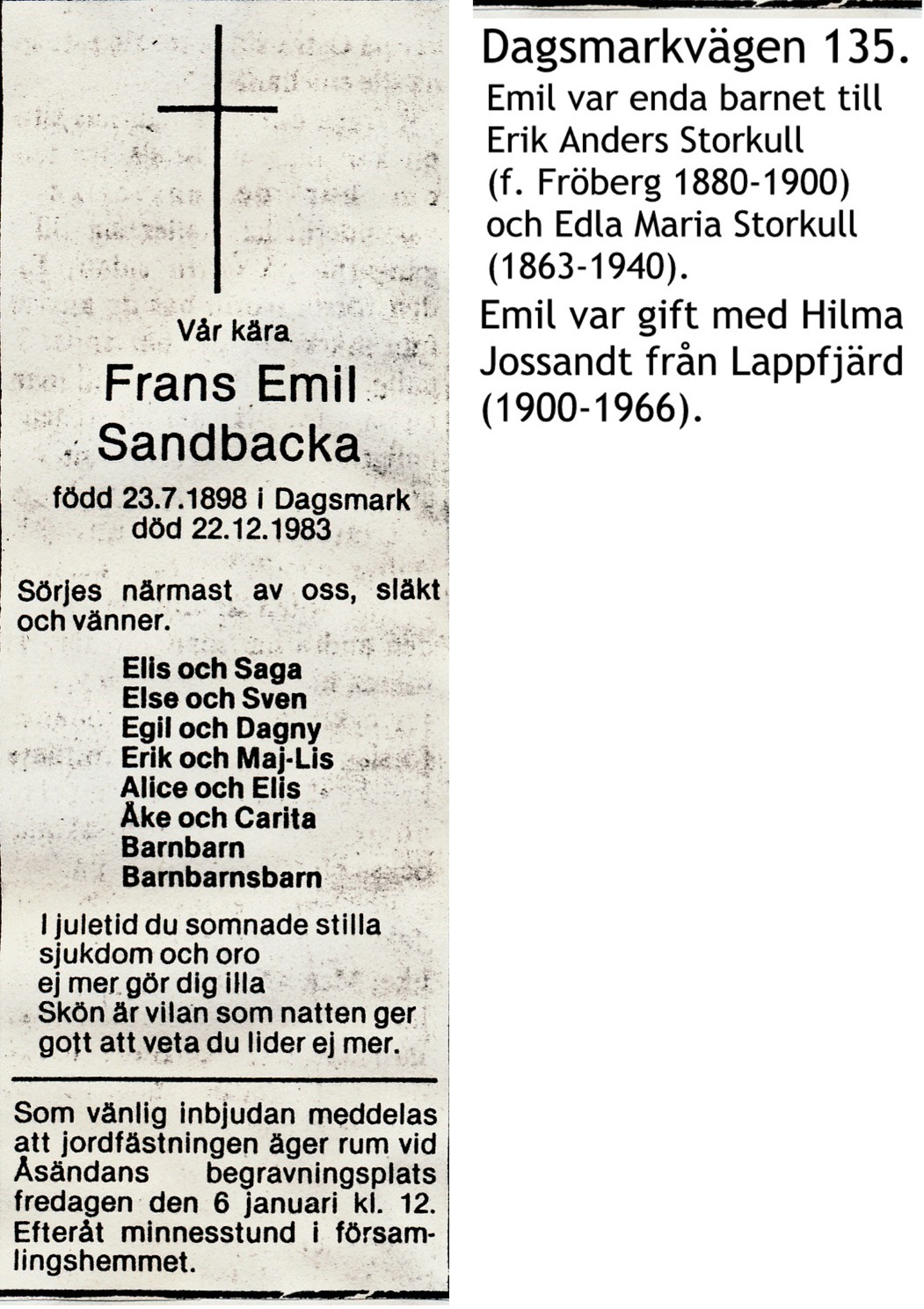Sandbacka Emil