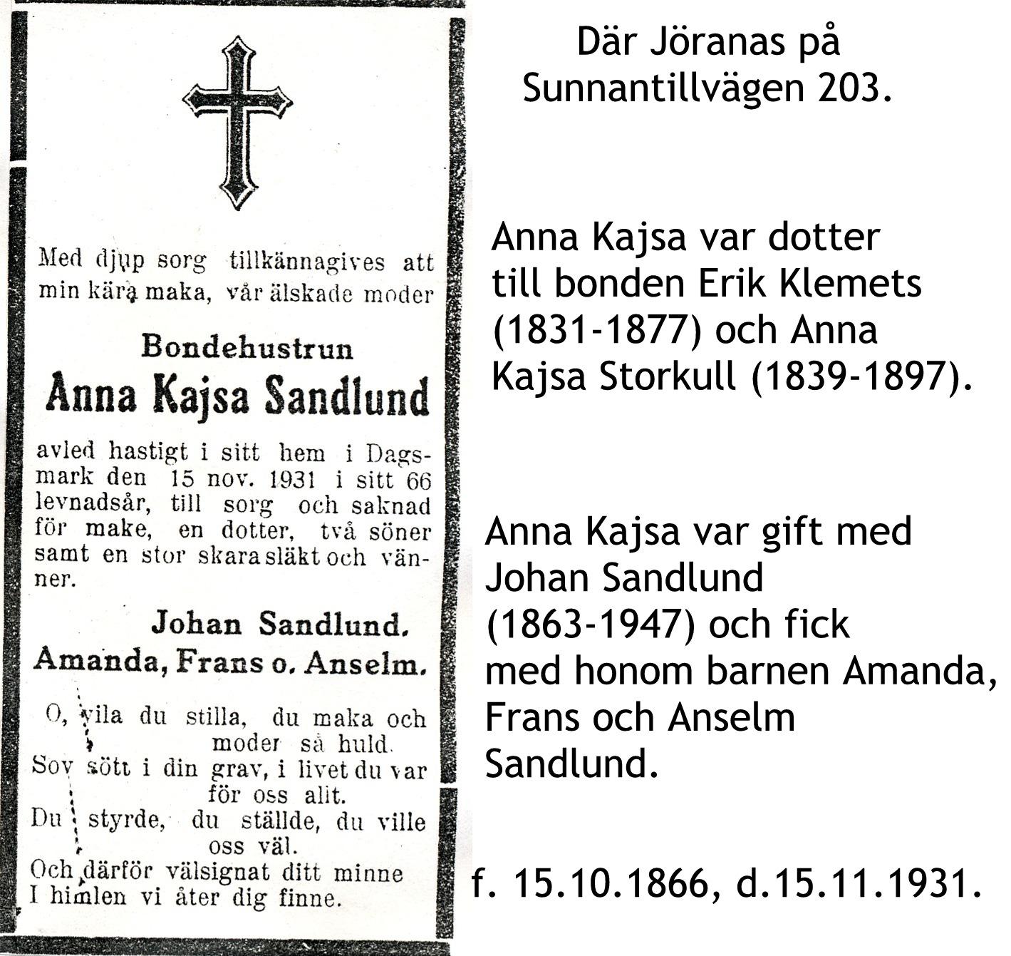 Sandlund Anna Kajsa