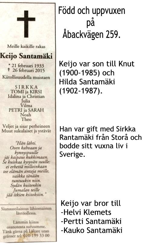 Santamäki Keijo