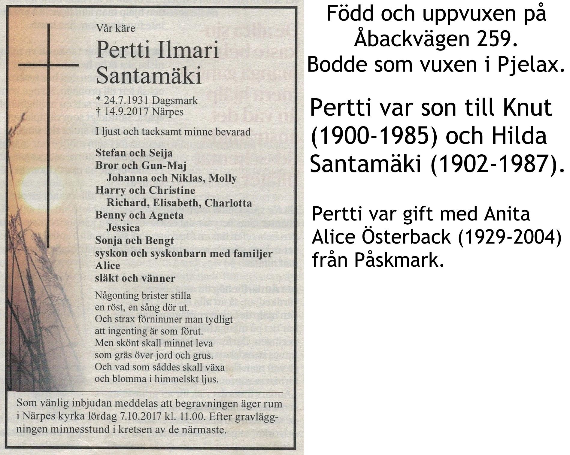 Santamäki Pertti