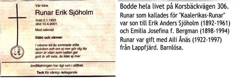 Sjöholm Runar