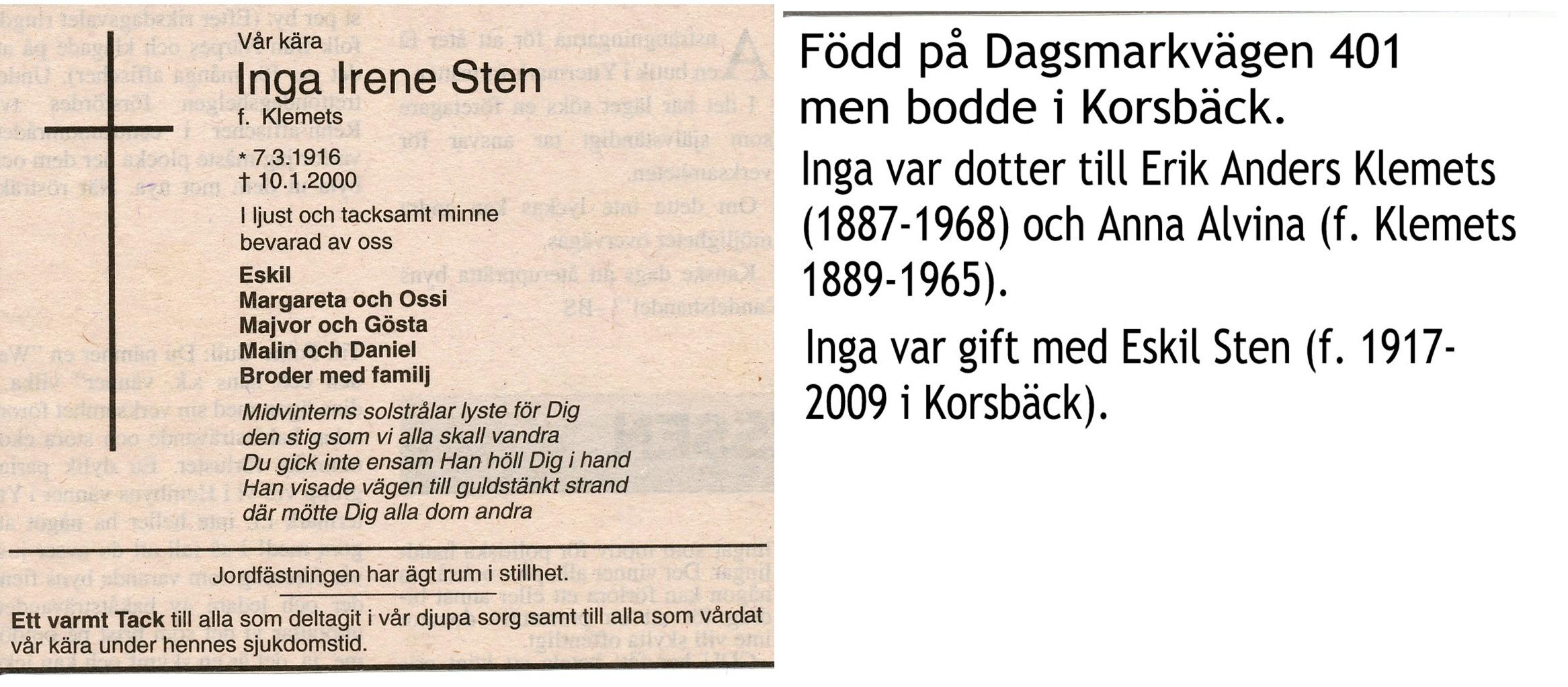 Sten Inga
