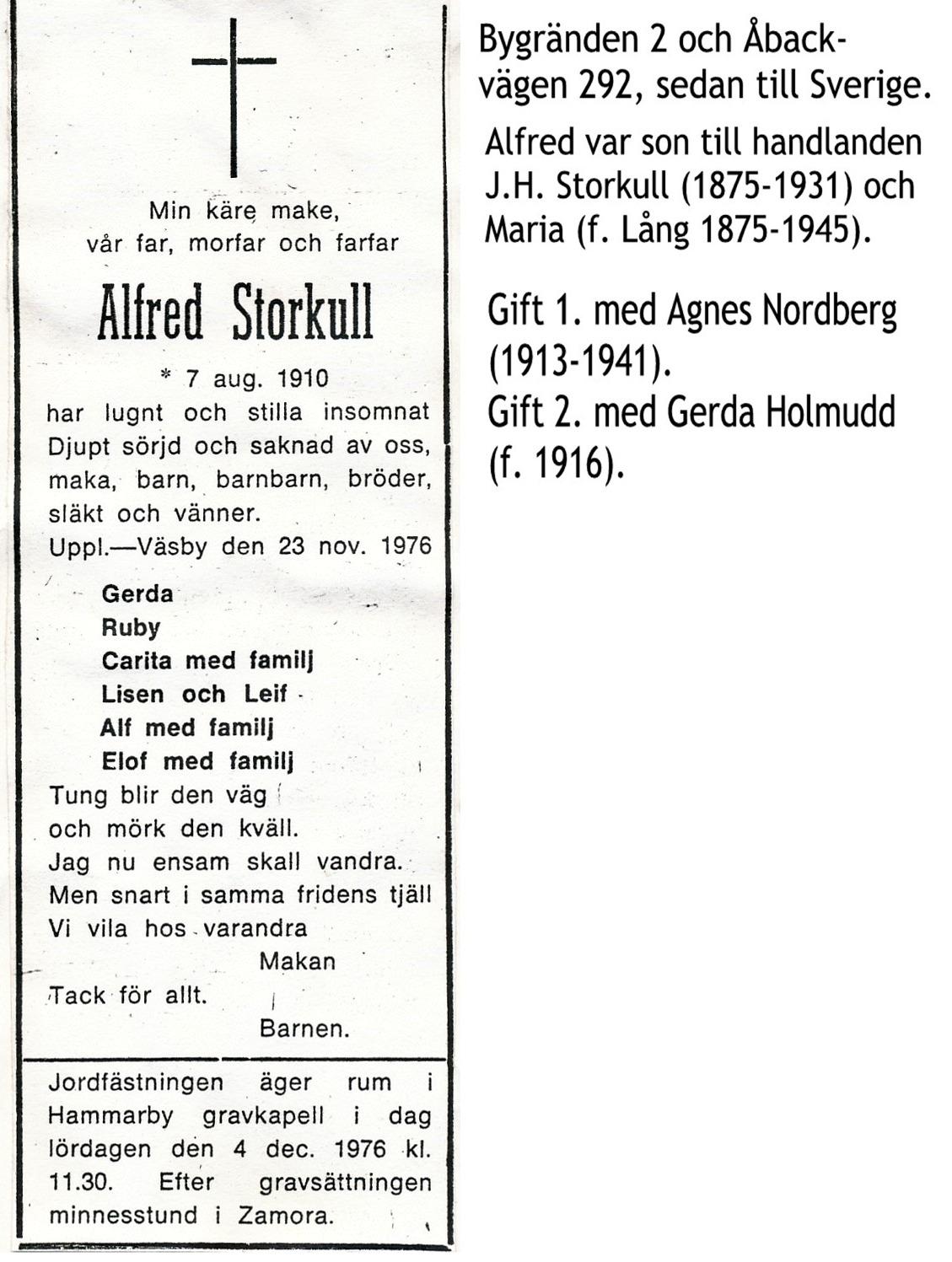 Storkull Alfred