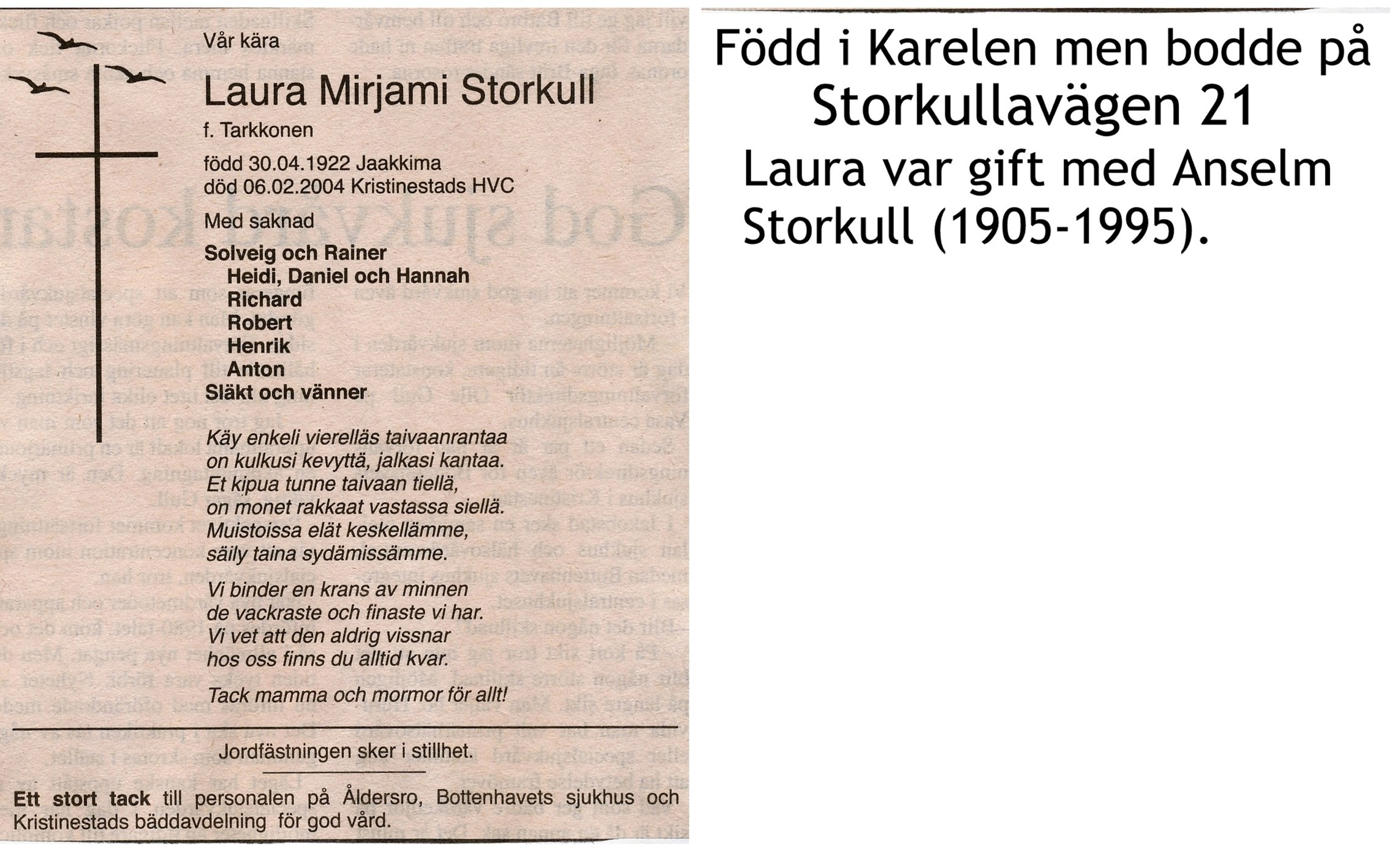 Storkull Laura