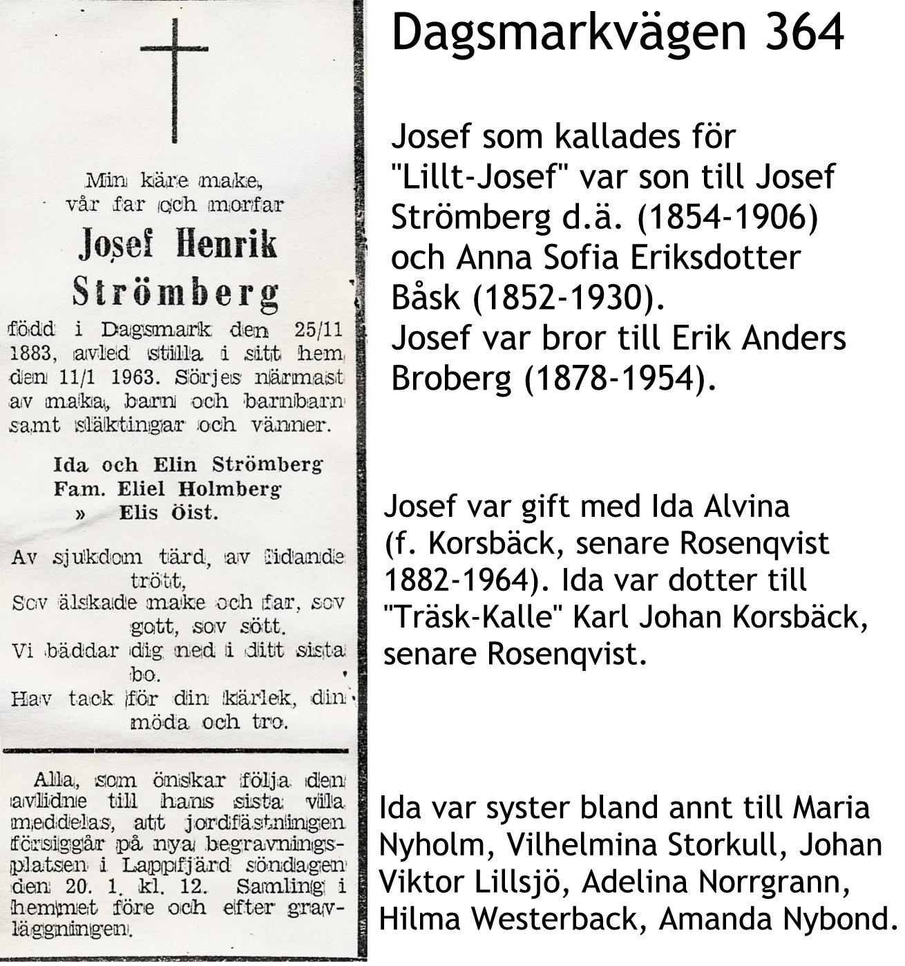 Strömberg Josef Henrik