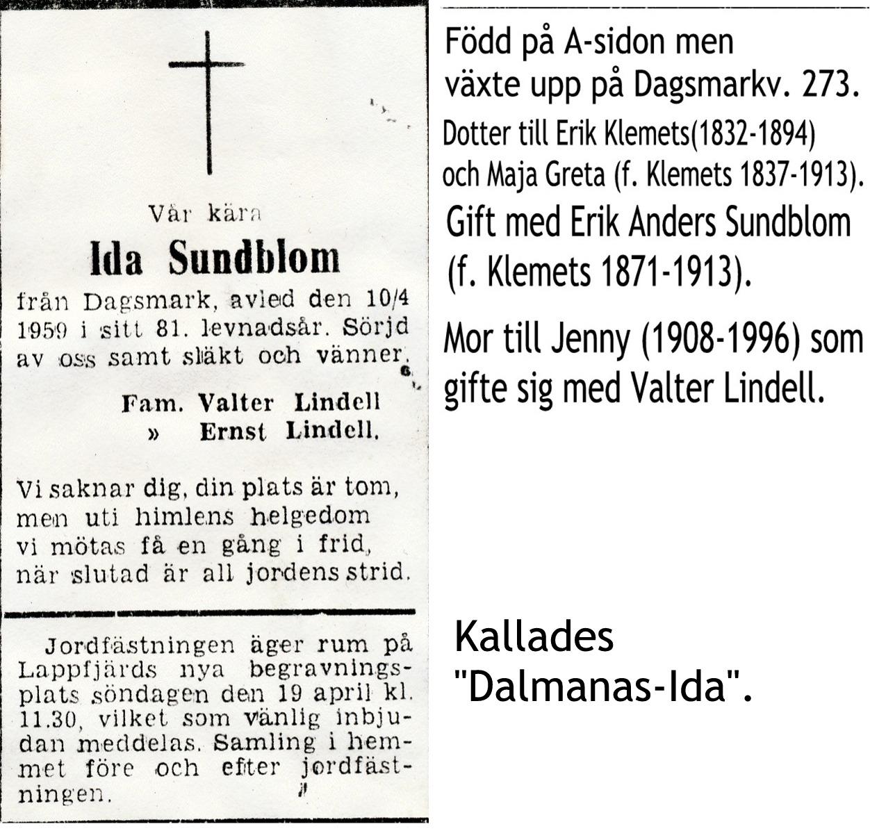 Sundblom Ida