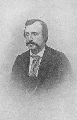 Här prästsonen Carl Gustaf Estlander (1834-1910) i yngre år.