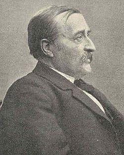 Carl Gustaf Estlander (1834-1910) som var född i Lappfjärd men verkade som professor i Helsingfors.