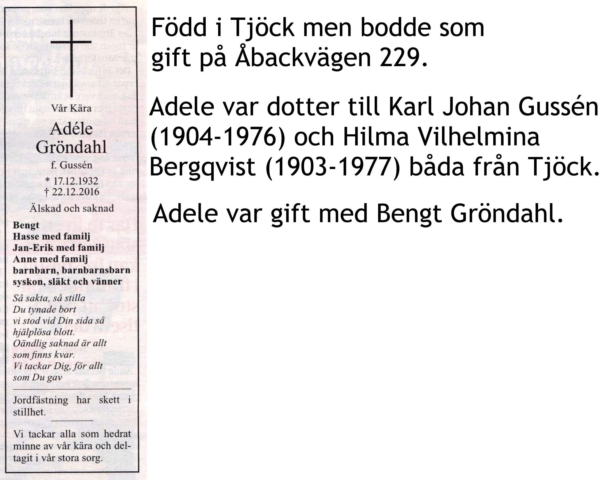 Gröndahl Adele