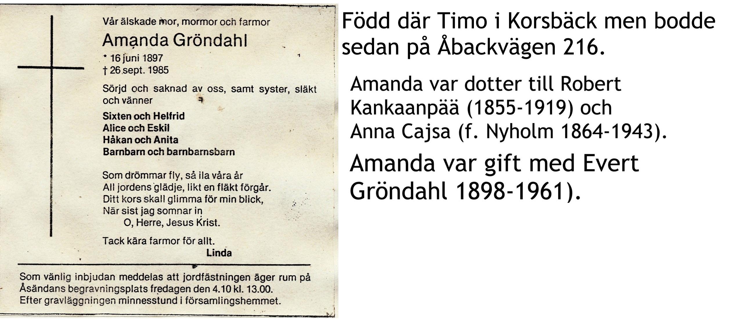 Gröndahl Amanda