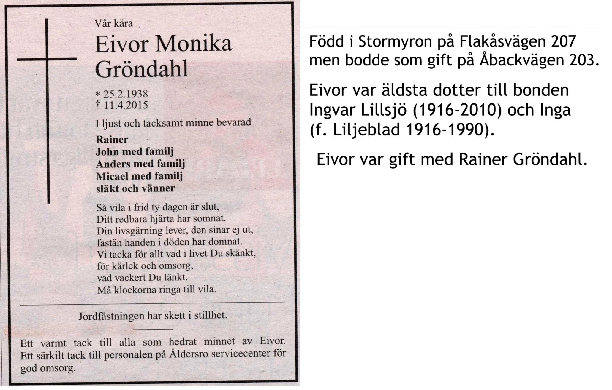 Gröndahl Eivor