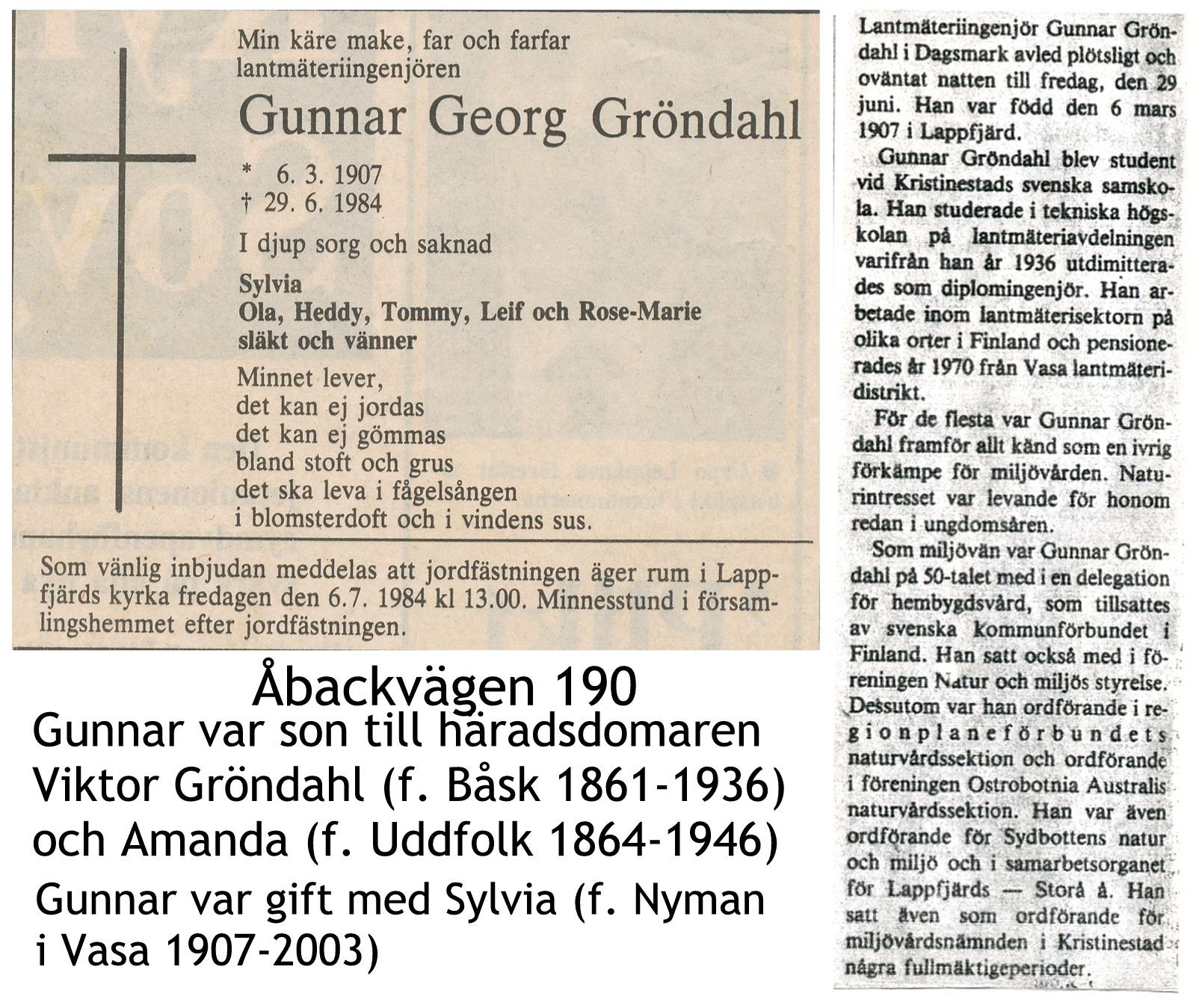 Gröndahl Gunnar