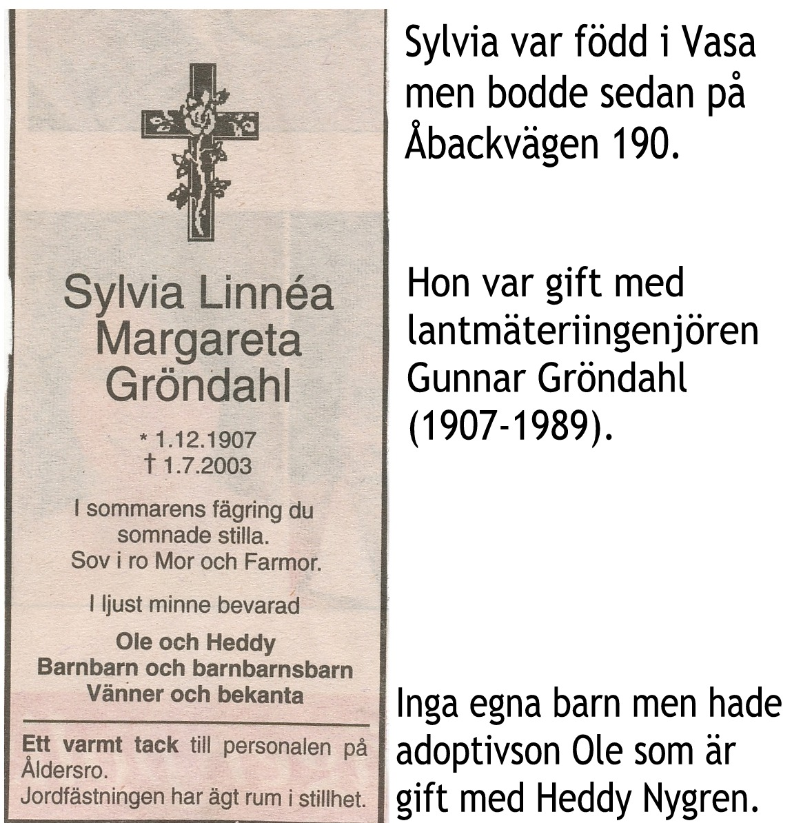 Gröndahl Sylvia