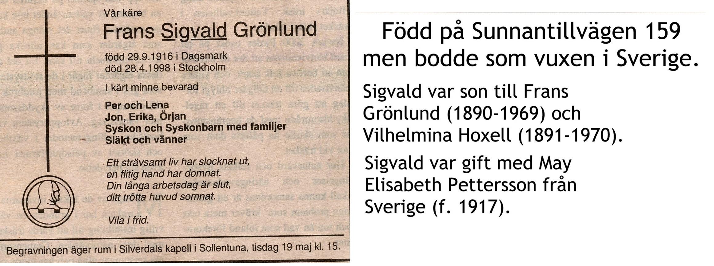 Grönlund Sigvald