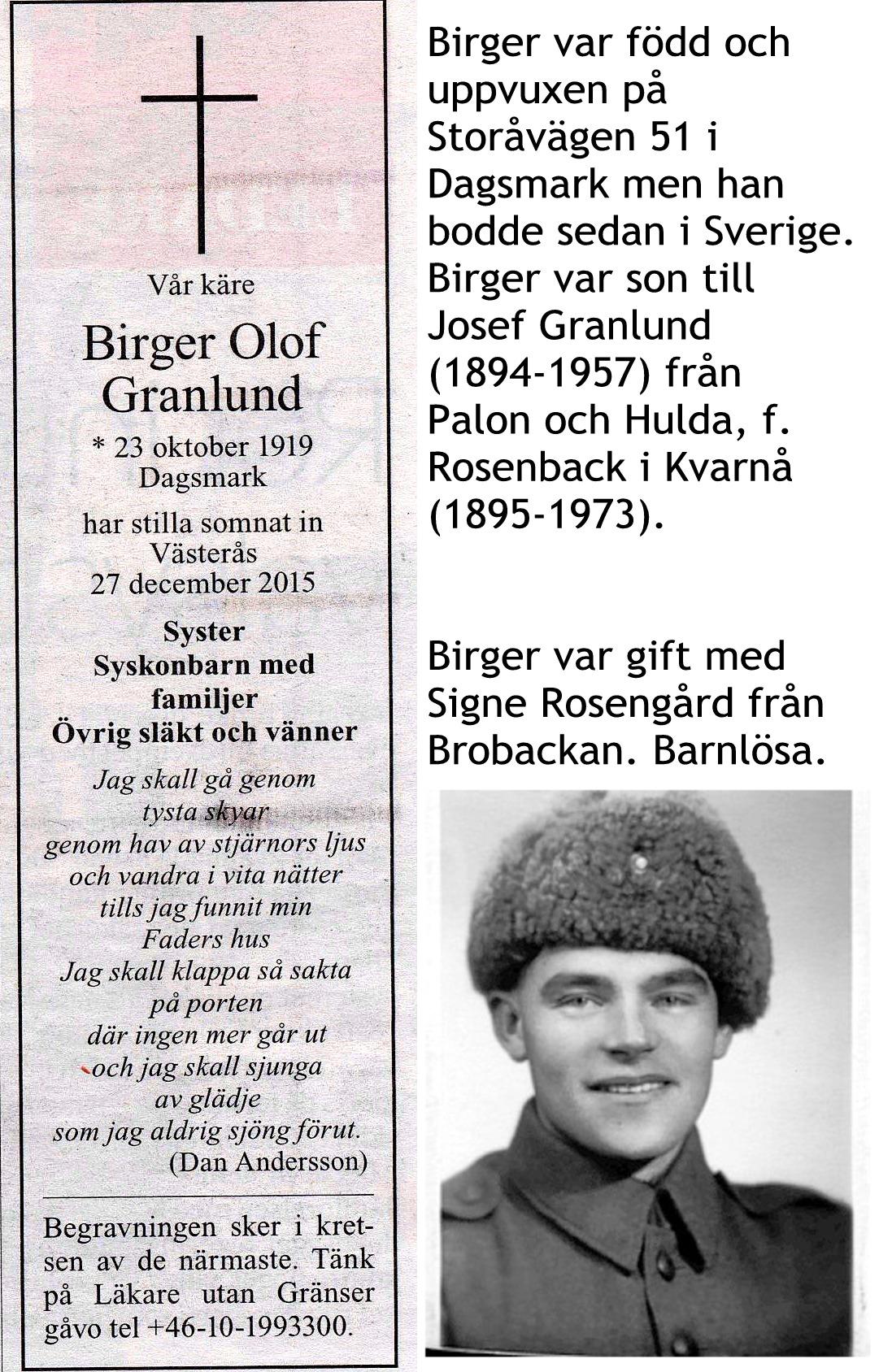 Granlund Birger