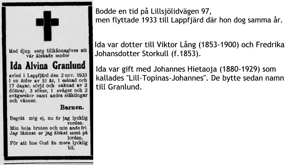 Granlund Ida i Lappfjärd