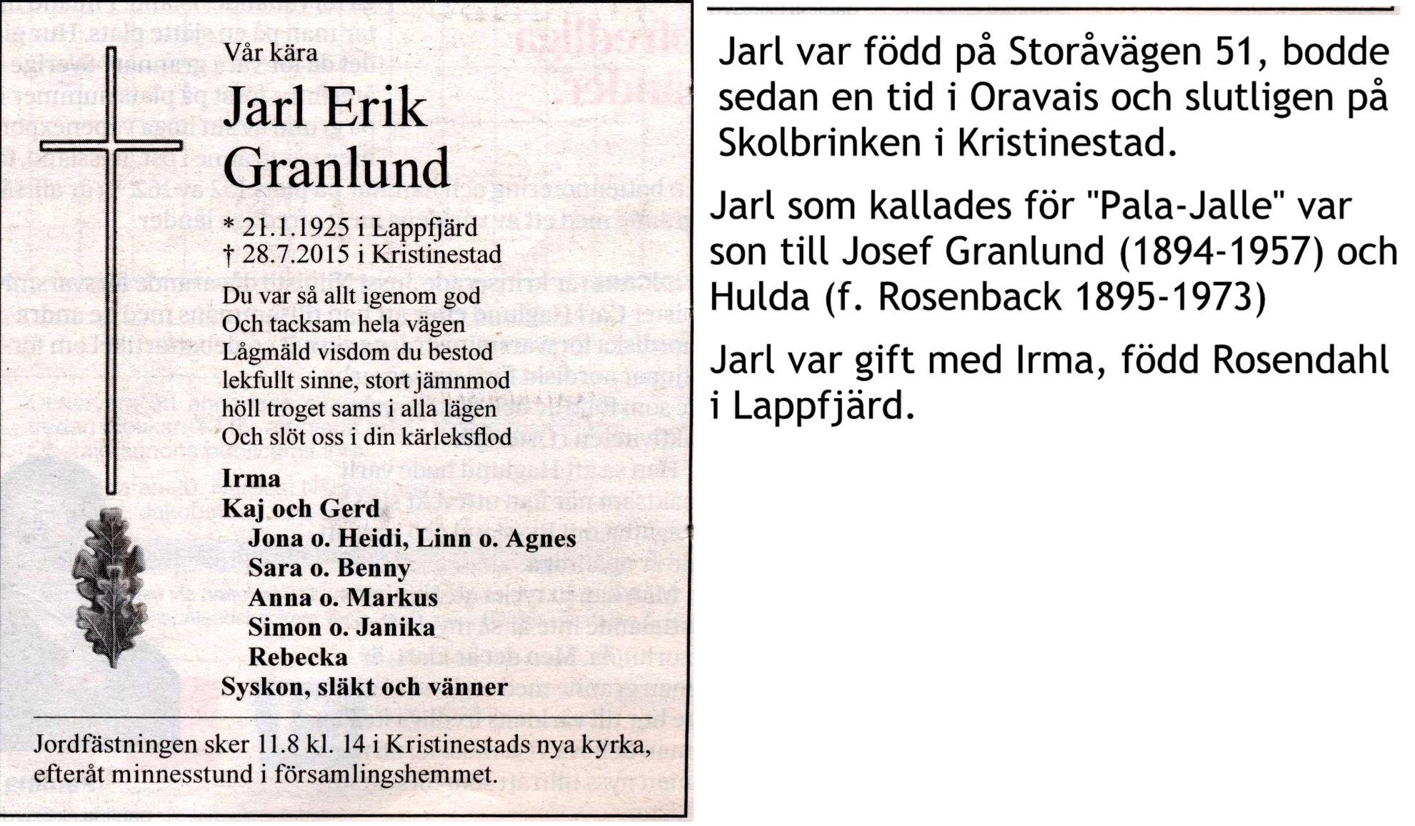 Granlund Jarl