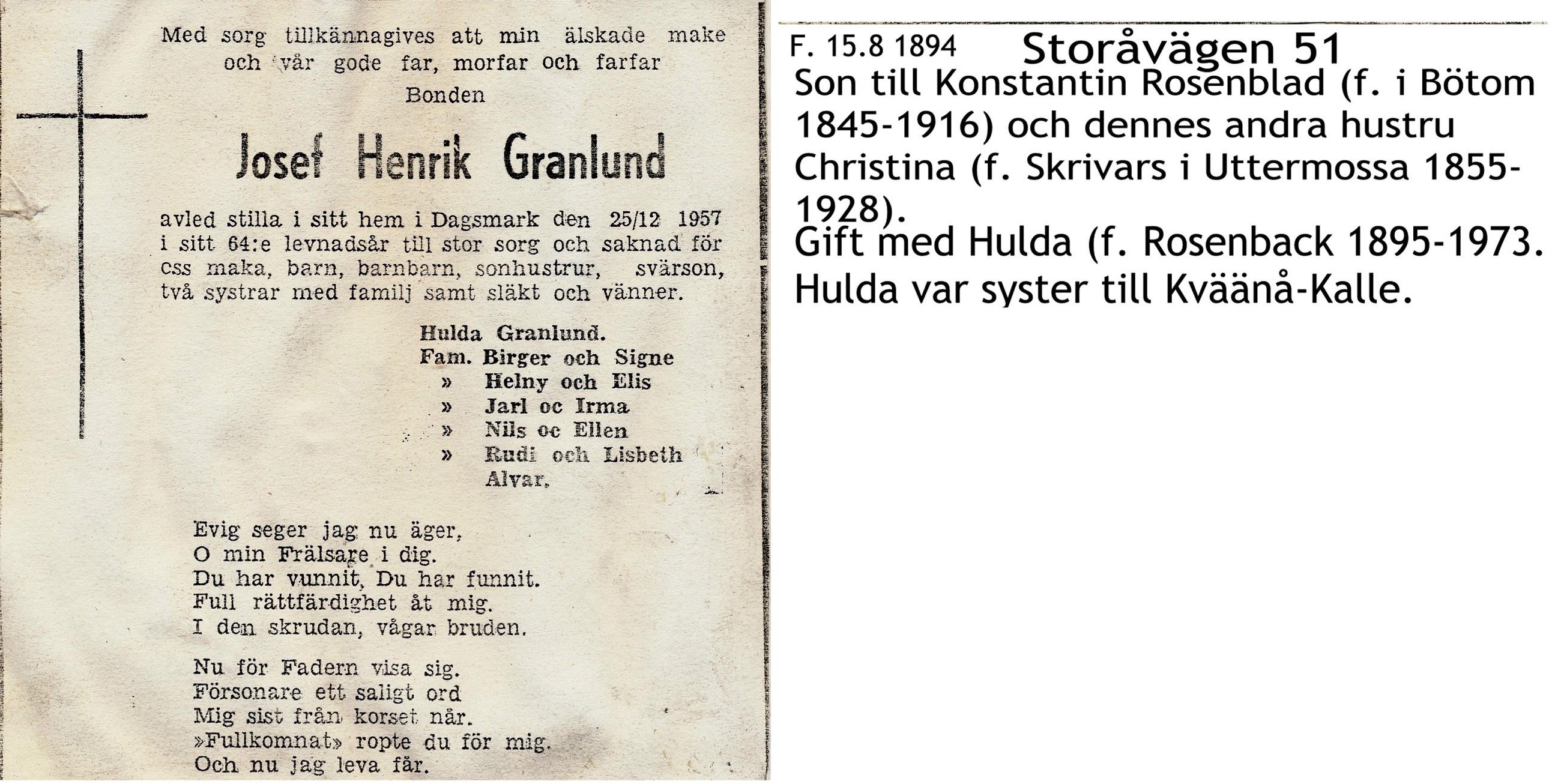 Granlund Josef