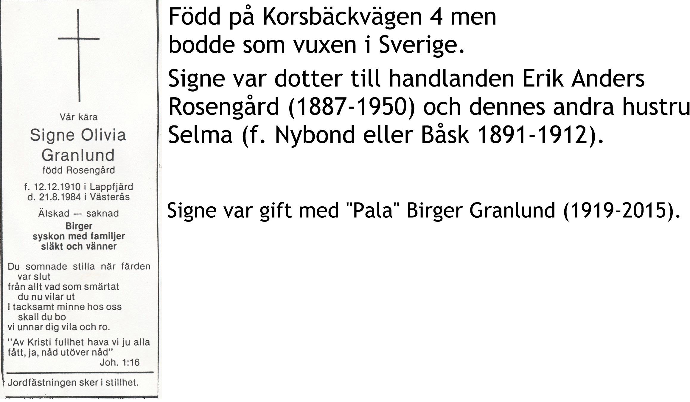 Granlund Signe